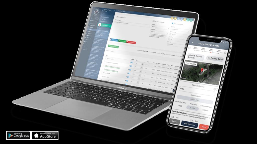 job estimating app for landscape business